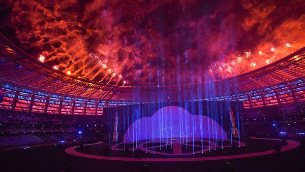 Церемония открытия IV Игр исламской солидарности в Баку - Sputnik Azərbaycan