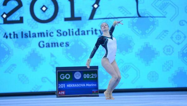 Выступление Марины Некрасовой - Sputnik Азербайджан