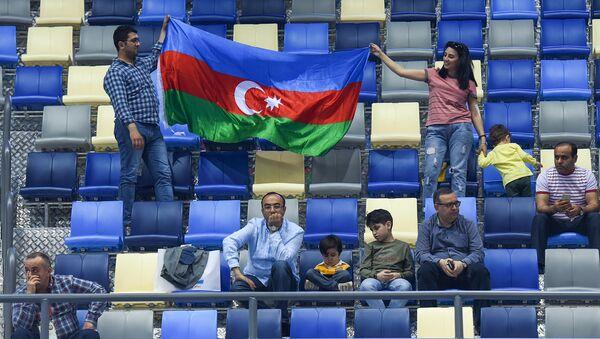 Азербайджанские болельщики на IV Играх исламской солидарности, архивное фото - Sputnik Азербайджан