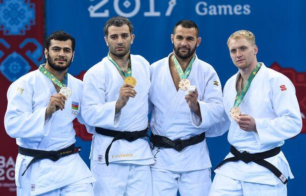 Финалы соревнований по дзюдо IV Игр исламской солидарности - Sputnik Азербайджан