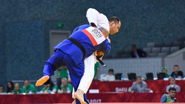 Финалы соревнований по дзюдо IV Игр исламской солидарности - Sputnik Azərbaycan