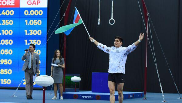Азербайджанский ггимнаст Мурад Агарзаев - Sputnik Азербайджан