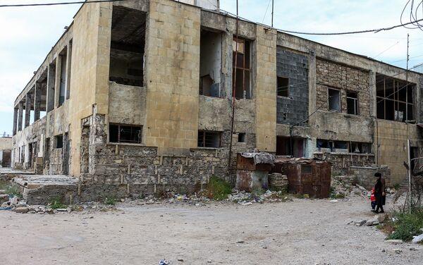Общежитие находится на грани полного разрушения - Sputnik Азербайджан