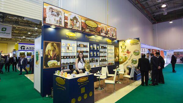XXIII Азербайджанская международная выставка пищевой промышленности WorldFood Azerbaijan 2017 - Sputnik Азербайджан