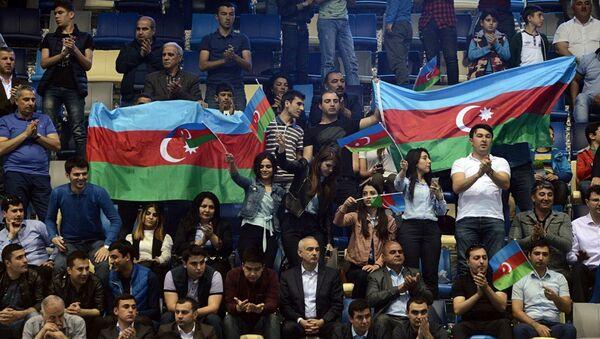 Болельщики на трибунах IV Игр исламской солидарности Баку-2017, архивное фото - Sputnik Азербайджан