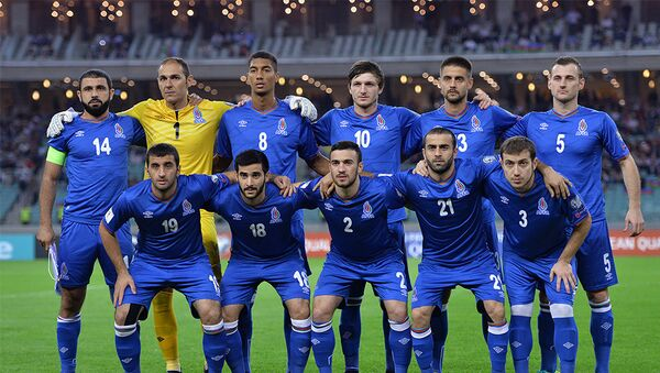 Сборная Азербайджана по футболу, фото из архива - Sputnik Азербайджан