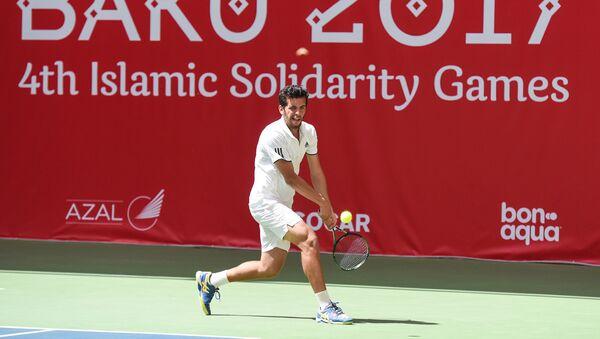 Индивидуальные и парные соревнования по теннису IV Игр Исламской солидарности - Sputnik Азербайджан