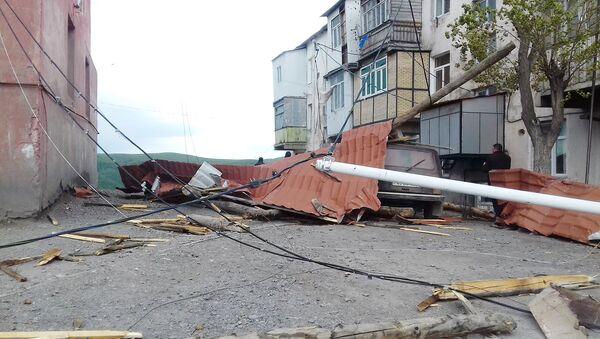 Последствия ветра, фото из архива - Sputnik Азербайджан