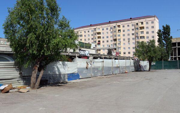 Снос на рынке Şərq bazar в Сумгайыте - Sputnik Азербайджан