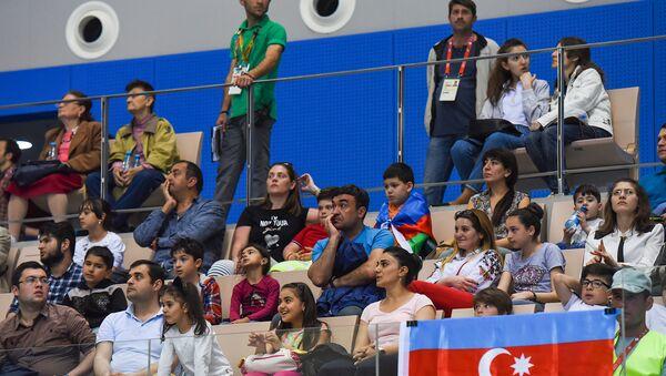 Финалы соревнований по прыжкам в воду с 10 метров IV Игр Исламской солидарности - Sputnik Азербайджан
