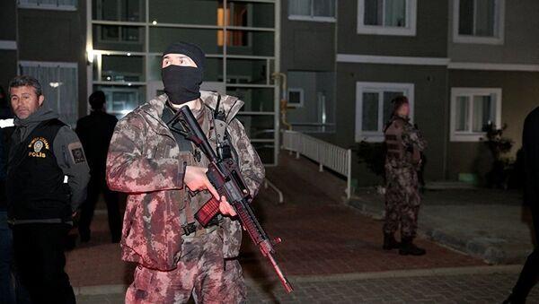 Антитеррористическая операция в Анкаре - Sputnik Азербайджан
