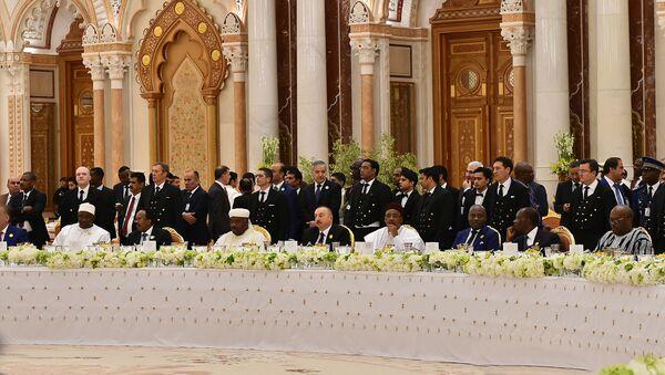 Президент Азербайджана Ильхам Алиев принимает участие в Арабо-исламско-американском саммите в Эр-Рияде - Sputnik Азербайджан