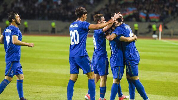 Футбольный матч Азербайджан - Оман - Sputnik Азербайджан