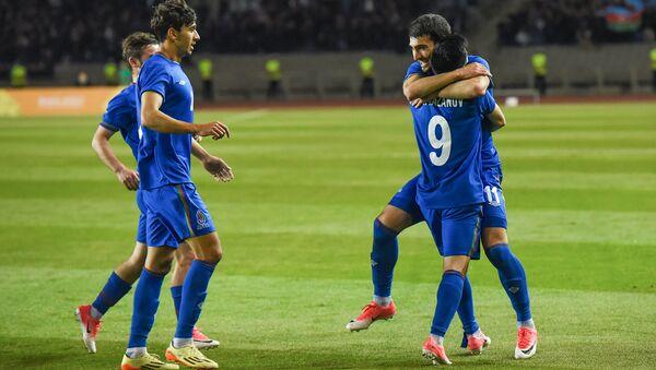 Azərbaycan millisinin futbolçuları, arxiv şəkli - Sputnik Azərbaycan