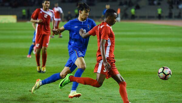 Финальный матч по футболу между сборными Азербайджана и Омана IV Игр Исламской солидарности - Sputnik Азербайджан