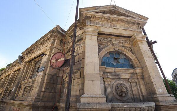Баня Фантазия на улице Дилары Алиевой в Баку - Sputnik Азербайджан