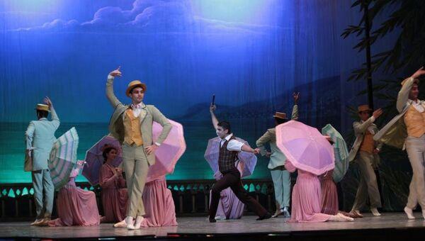Сцена из балета Вальс надежды - Sputnik Азербайджан