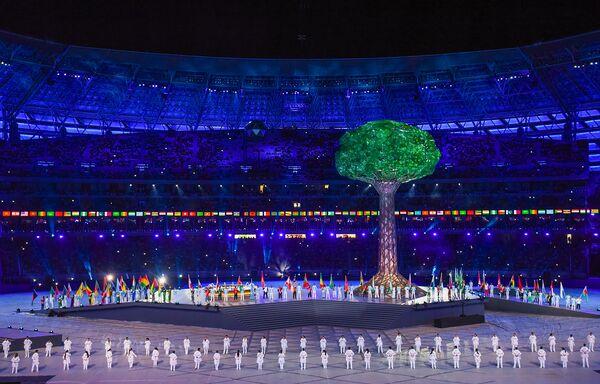 Официальная церемония закрытия IV Игр исламской солидарности в Баку - Sputnik Азербайджан