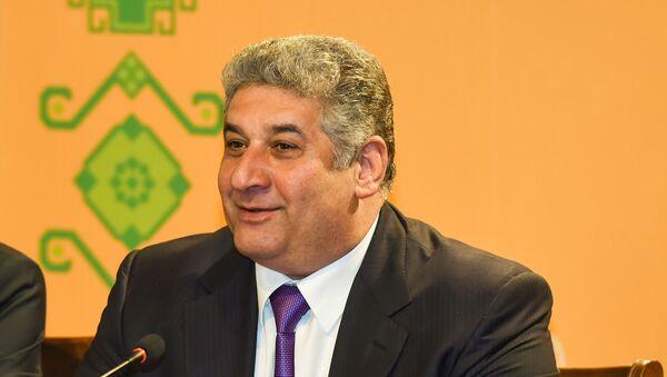 Министр молодежи и спорта Азербайджана Азад Рагимов - Sputnik Azərbaycan