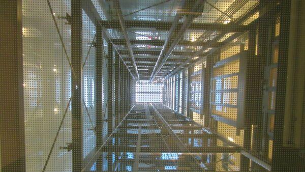 Шахта лифта, фото из архива - Sputnik Азербайджан