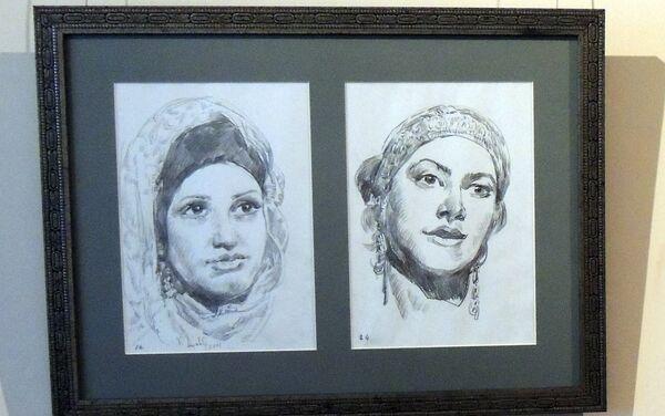 Женские портреты - Sputnik Азербайджан