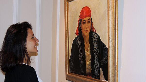 Выставка, посвященная памяти народного художника Азербайджана Давуда Кязимова - Sputnik Азербайджан