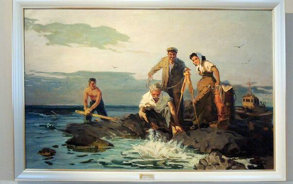 На рыбалке - Sputnik Азербайджан