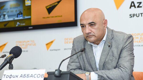 Видеомост в Мультимедийном пресс-центре Sputnik Азербайджан, посвященный месяцу Рамазан - Sputnik Азербайджан