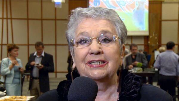 Народная артистка Азербайджана Дина Тумаркина, фото из архива - Sputnik Азербайджан
