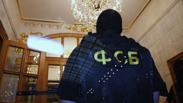 Обыск в ресторане Прага в Москве, фото из архива - Sputnik Азербайджан