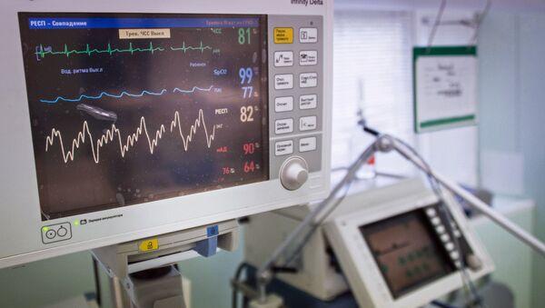Диагностический медицинский прибор, фото из архива - Sputnik Азербайджан