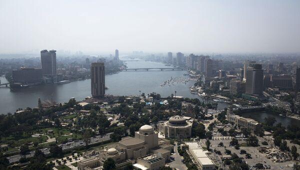 Вид на Каир, фото из архива - Sputnik Азербайджан