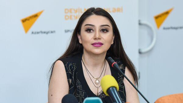 Певица Damla в Международном мультимедийном пресс-центре Sputnik Азербайджан - Sputnik Азербайджан