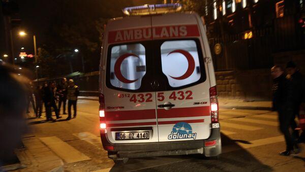 Машина скорой помощи в Стамбуле, фото из архива - Sputnik Азербайджан