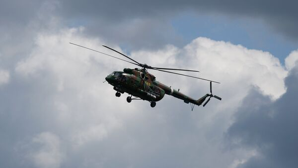 Вертолет Ми-8, фото из архива - Sputnik Азербайджан