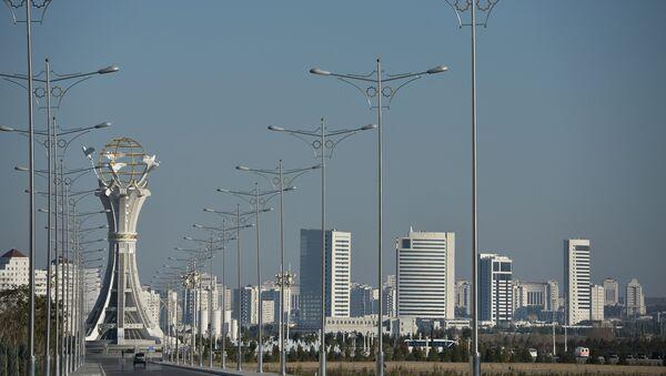 Монумент Благополучие (Акбугдай) в Ашхабаде. - Sputnik Азербайджан