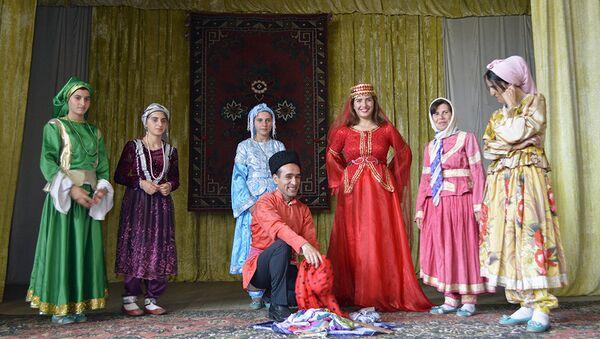 M.Şəhriyar adına Kakalos kənd Xalq Teatrı - Sputnik Azərbaycan