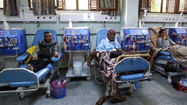 Больница в Йемене, фото из архива - Sputnik Азербайджан