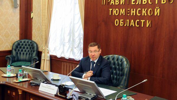 Встреча губернатора Тюменской области Владимира Якушева с представителями СМИ Азербайджана - Sputnik Азербайджан