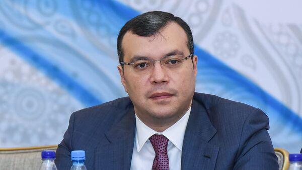 Министр  труда и соцзащиты населения Азербайджана Сахиль Бабаев, фото из архива - Sputnik Азербайджан