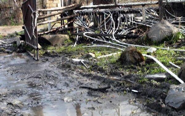 Состояние дорог поселка Вандам Габалинского района - Sputnik Азербайджан