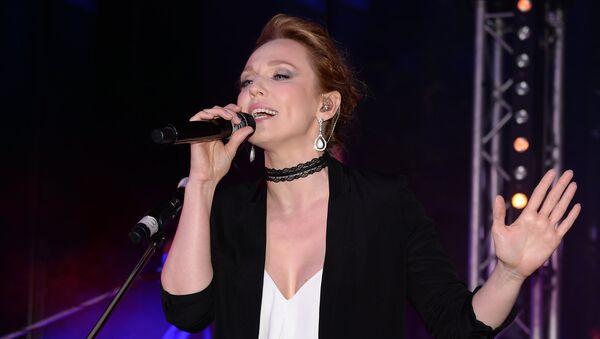 Российская певица Альбина Джанабаева, фото из архива - Sputnik Азербайджан