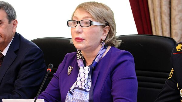 Председатель Комитета по вопросам семьи, женщин и детей Милли Меджлиса Агия Нахчыванлы - Sputnik Азербайджан