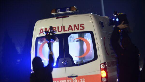 Карета скорой помощи в Турции, фото из архива - Sputnik Азербайджан
