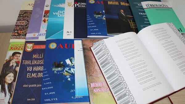 AMEA Mərkəzi Elmi Kitabxanası (MEK) may ayı ərzində MEK-ə daxil olan yeni sənədlərin təqdimatını keçirdi - Sputnik Azərbaycan