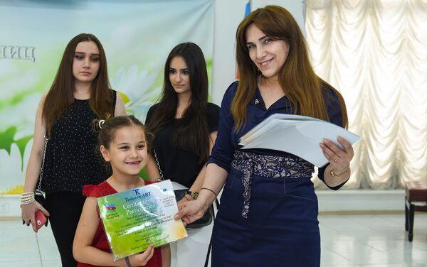 Всем были вручены сертификаты об участии - Sputnik Азербайджан