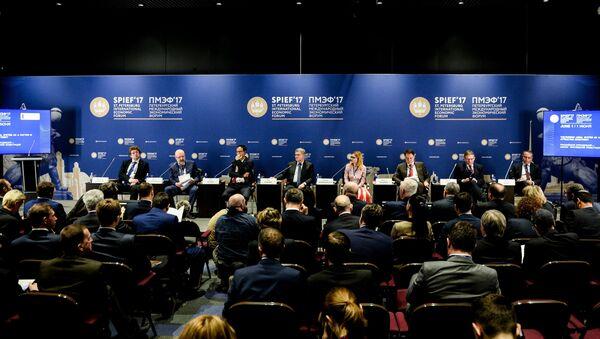 Петербургский международный экономический форум. День первый - Sputnik Azərbaycan