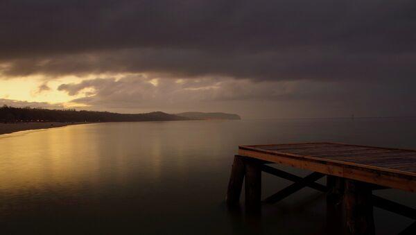 Ночное море, фото из архива - Sputnik Азербайджан