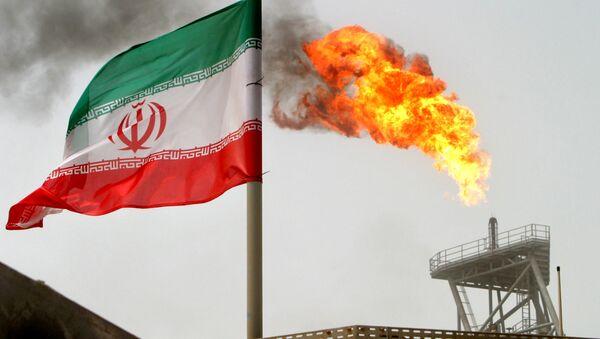 Флаг Ирана, фото из архива - Sputnik Азербайджан
