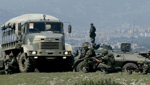 Учения НАТО Cooperative Longbow 09/Cooperative Lancer 09 завершаются в Грузии - Sputnik Azərbaycan